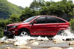 Ssangyong-Actyon-side