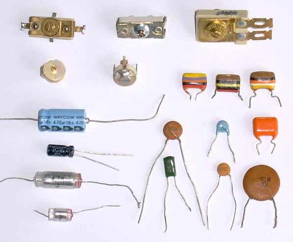 خازن یا capacitors